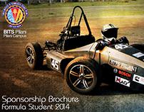 Formula Student, BITS Pilani, Sponsorship Brochure