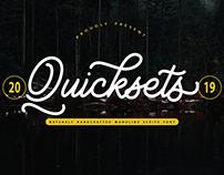 QuickSets Script Font