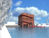 Rotterdams havenmuseum, afstudeeropdracht TU Delft