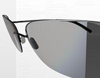 HDR - REFLECTIVE Sunglass / STILL 3D FOR SCENE