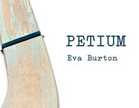 "Catálogo y Dossier ""Petium"" de Eva Burton (2014)"