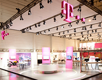 Deutsche Telekom Exhibition Design: E-World 2014