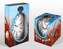 Dali Clock packaging