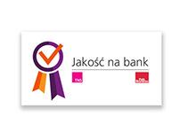 LOGO // Jakość na bank // TNS