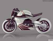 Two wheels for the woman of tomorrow