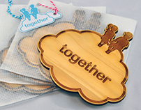 together Coaster (pine/cement)