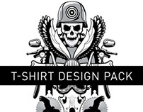 Road Hog T-Shirt Design Pack