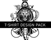 Unleashed T-Shirt Design Pack