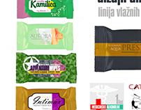 Packaging: wet wipes series