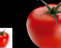 Vetorização do tomate