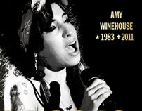 Capa para revista Veja - Amy Winehouse