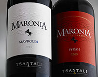 Packaging Maronia For Tsantali Greece.