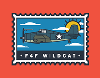 WWII Aircraft Illustrations