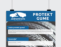 Poster - protect tires