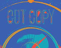 Cut Copy / Classixx gig poster