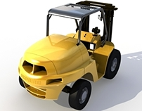 REDESIGN OF A NEW FRONT FOR A FORKLIFT
