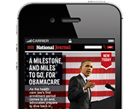 National Journal Ipad And Iphone Design