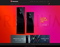 Swizer start page