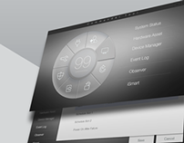 GUI (Graphical user interface) design development.