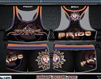 Cheergyms.com 2014 Worlds Apparel Design