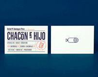 chacón e hijo — corporate identity