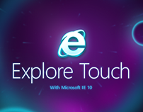 Explore Touch with Microsoft IE10