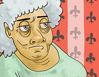 grandma vs sprinkles (animated!)
