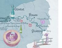 Brigitte: Landkarten