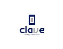 Diseño de identidad gráfica CLAVE diseño y construcción