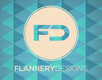 Flannery Designs Shop Poster