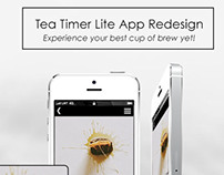 Tea Timer Lite App Redesign