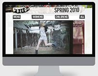 Volcom - Spring 2010 E-commerce Website