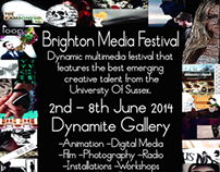 Media, Film and Music 3rd year degree show 2014.