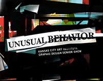 Unusual Behavior: KCAI Graphic Design Senior Show