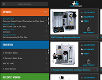 Sales Connect Tablet App (2013)