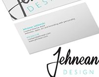 Jehnean Design Branding