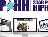 Star Pulse Hip-Hop Logo Branding