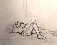 Semester 1 Figure Drawings