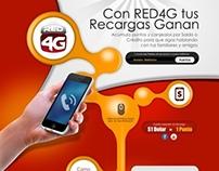 Landingpage - Sistema Puntos Red4G