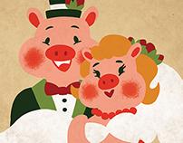 A Piggie Wedding