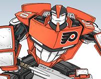 NHL Zamboni Robot