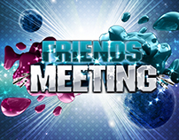 "Flyer Evento Friends Meeting ""Rave"" Open Air"