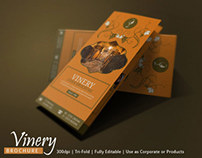Vineyard Brands Brochure Design | Modern Design