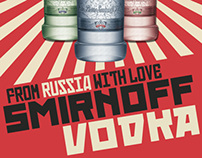 Russian Constructivism || Vodka Advertisement