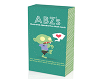 ABZ's Illustrated Alphabet Flash Cards