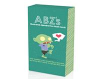 ABZ's Illustrated Alphabet Flash Cards