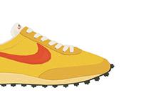shoes jog memories