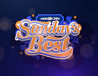 ABS-CBN Sunday's Best: a study in type