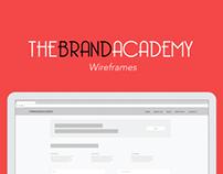 TheBrandAcademy Wireframes