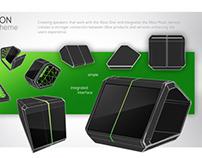 XBOX MUSIC Speakers Concept